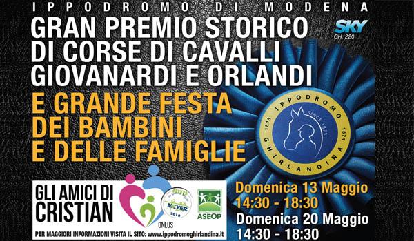 Gran Premio Storico di Corse di Cavalli per la Fondazione Meyer