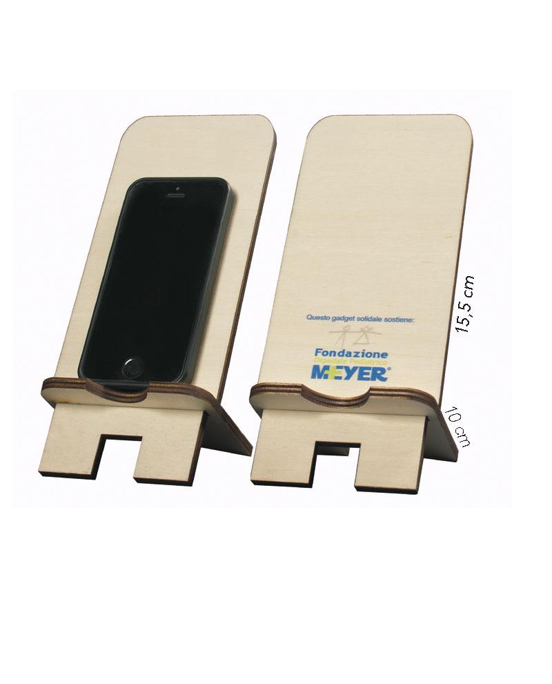 Porta cellulare in legno