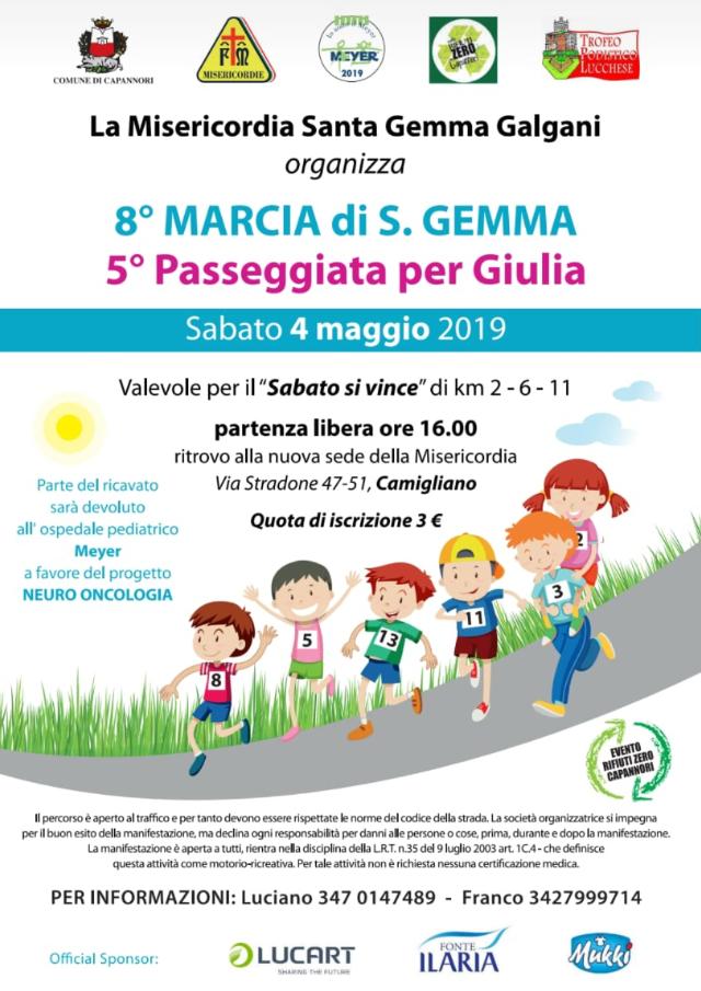 5° Passeggiata per Giulia