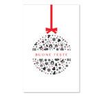 Biglietto solidale con pallina natalizia (B02-p)-10