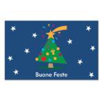 Biglietto con albero e cometa (B08-p)-10
