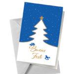 Biglietto blu con albero (BA02)-10