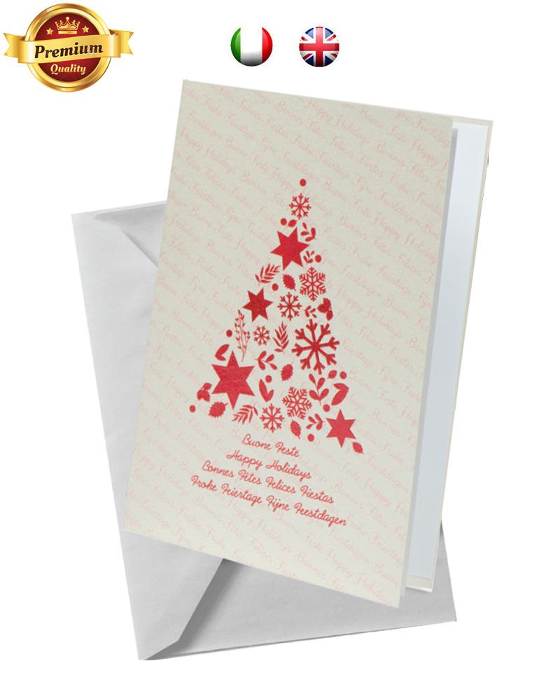 Biglietto pregiato con albero rosso (BP02)
