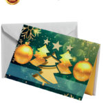 Biglietto pregiato con albero dorato (BP03)-10