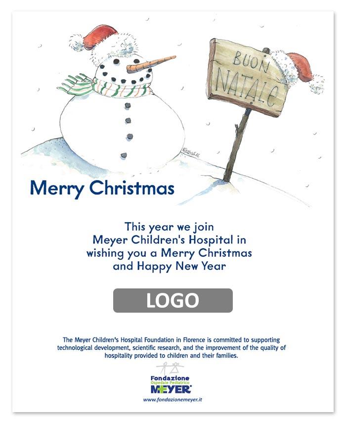Email augurale con logo aziendale (EA06)