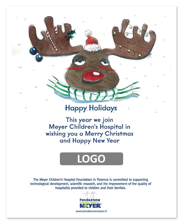 Email augurale con logo aziendale (EA07)