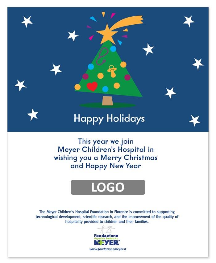 Email augurale con logo aziendale (EA08)