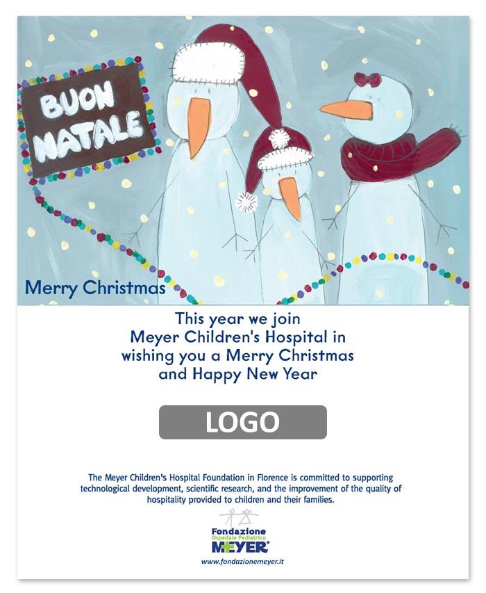 Email augurale con logo aziendale (EA09)