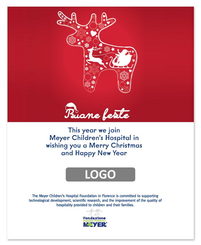 Email augurale con logo aziendale (EA01)