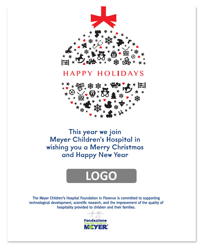 Email augurale con logo aziendale (EA02)
