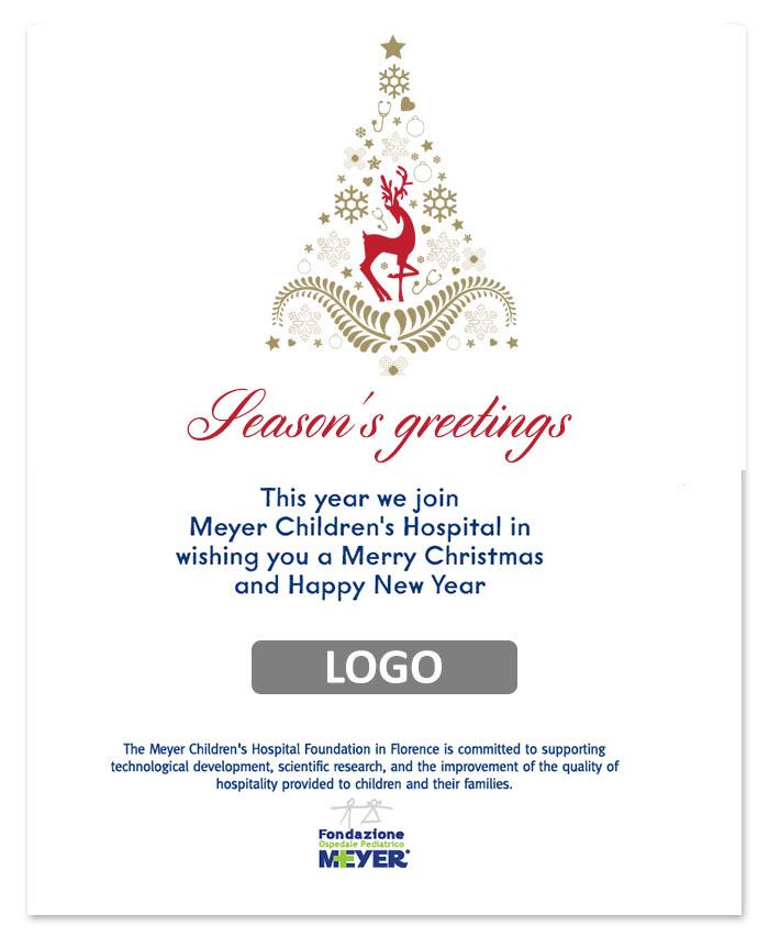Email augurale con logo aziendale (EA03)