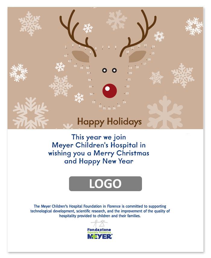 Email augurale con logo aziendale (EA04)