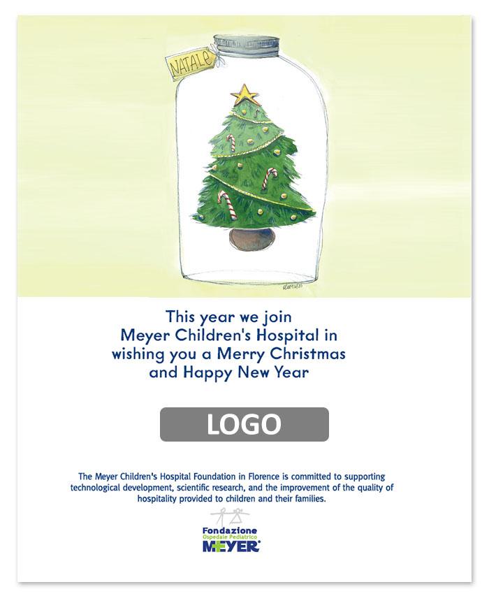 Email augurale con logo aziendale (EA05)