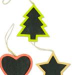 Tris addobbi natalizi colorati in legno-10