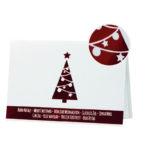 Biglietto pregiato albero rosso a caldo (BP0002-P)-10