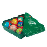 Scatola con 6 palline decorate (SC01)-10