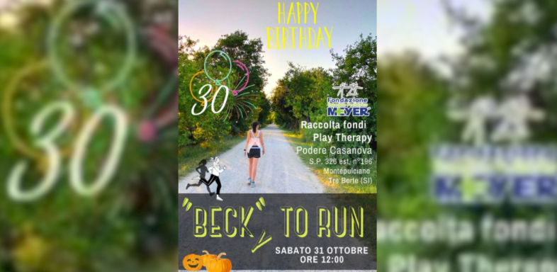 """""""Beck""""y to run"""