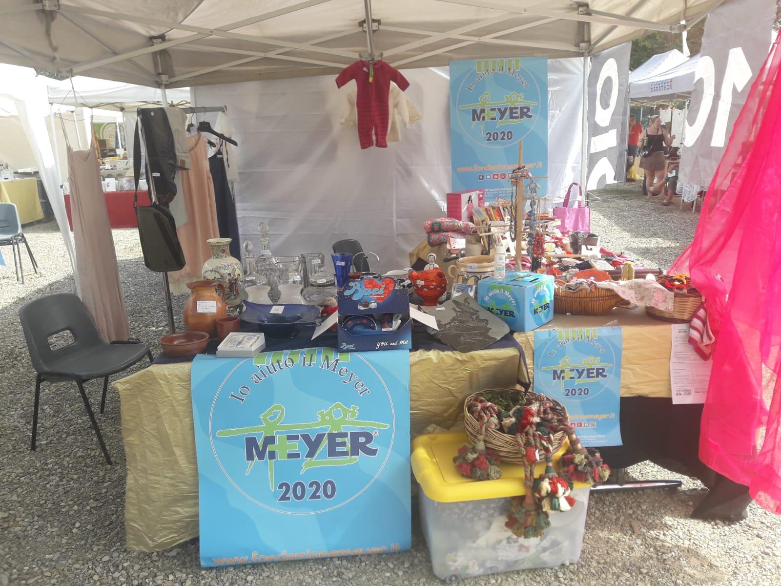 """Uno stand solidale per il Meyer a """"Collezionare a Firenze"""""""