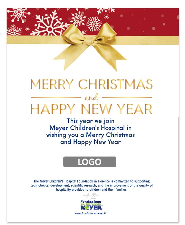 Email augurale con logo aziendale (EA13)