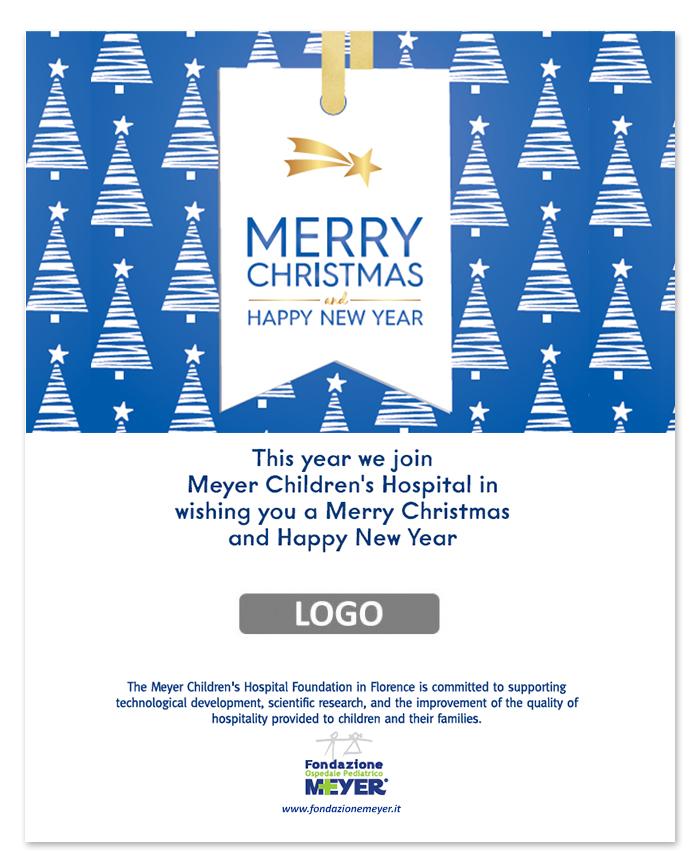 Email augurale con logo aziendale (EA14)