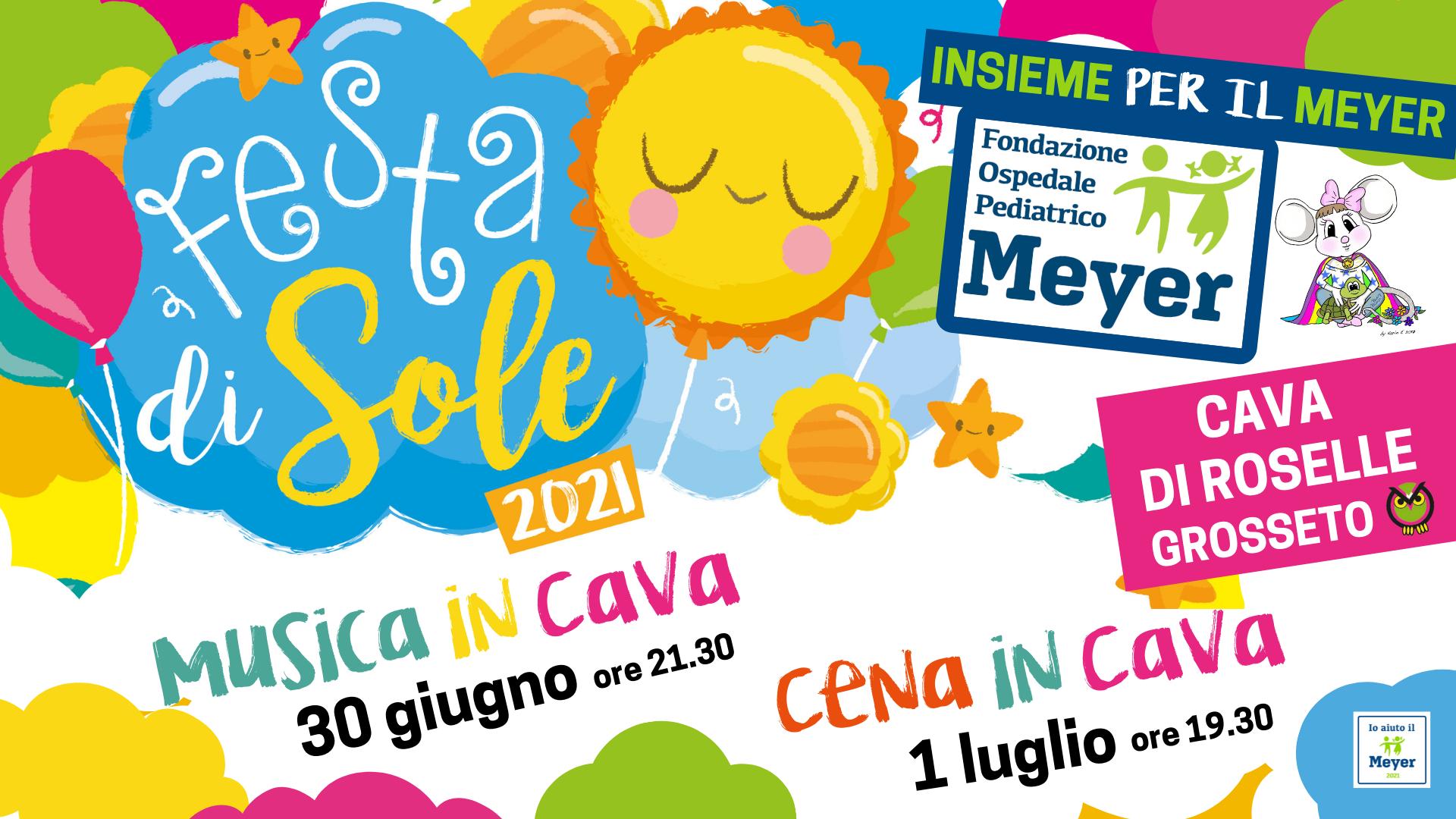 Festa di sole – 30 giugno e 1 luglio 2021