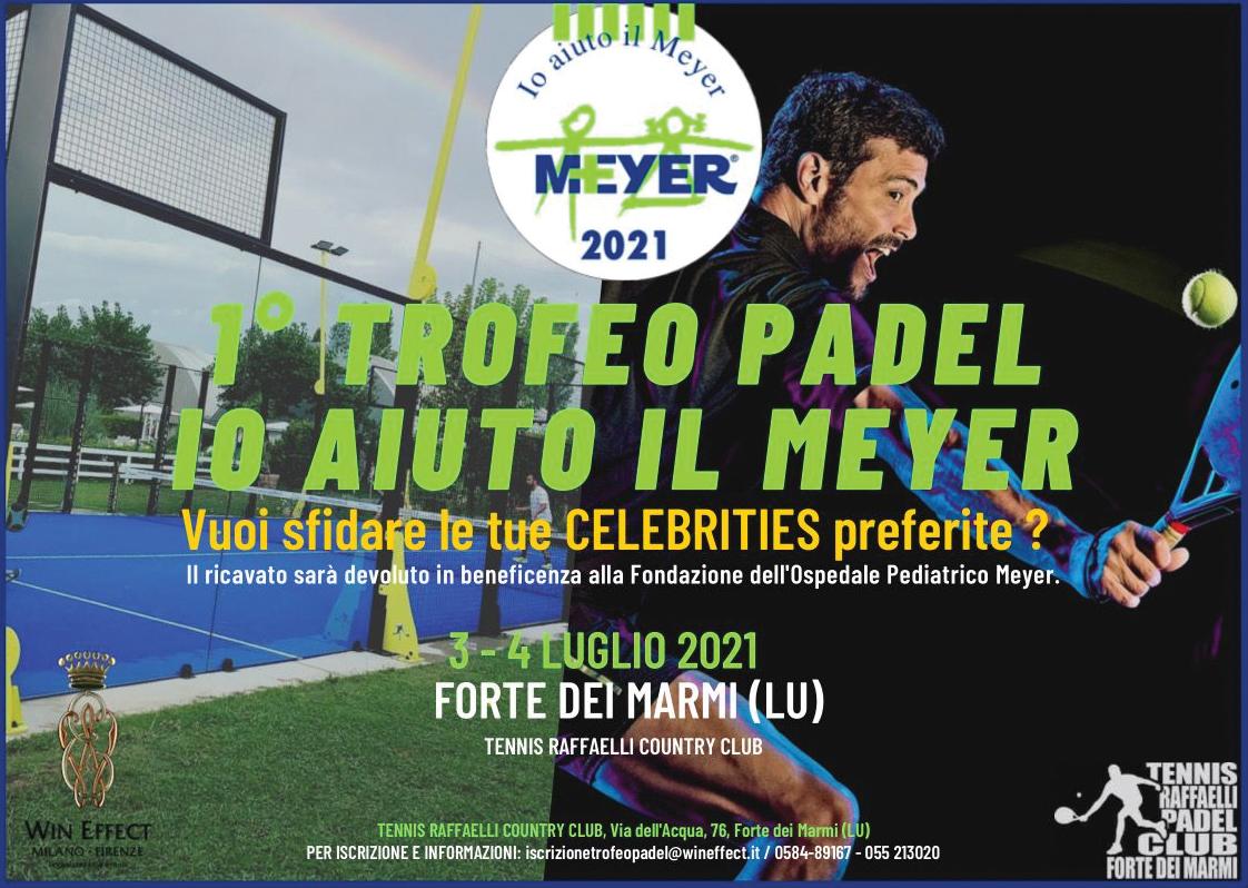 1° Trofeo Padel Io aiuto il Meyer