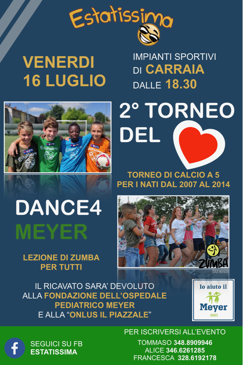 2° Trofeo del cuore. Dance 4 Meyer