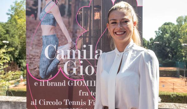 Camila Giorgi e il brand Giomila, fra tennis e moda